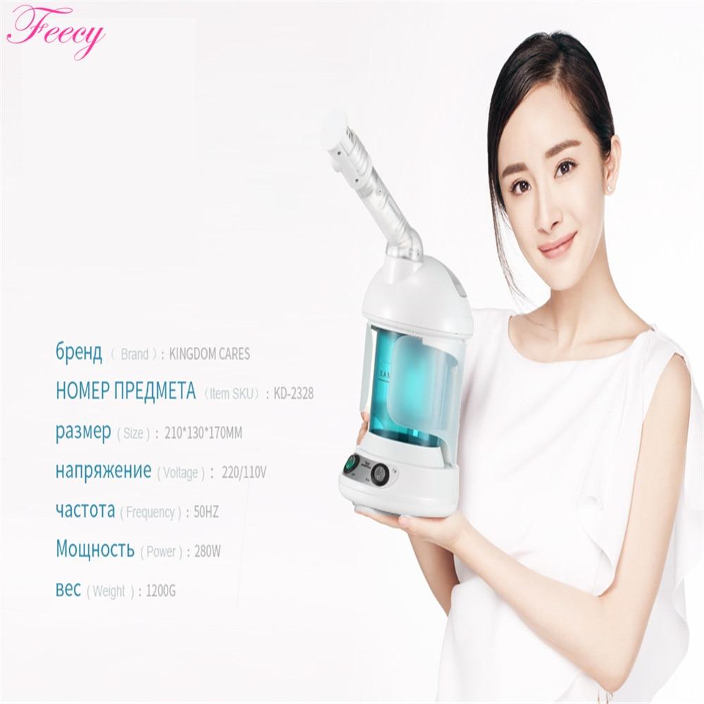 Hot Mist Facial Steamer Steaming Skin Humidifier Ozone Sterilization Lonic Aromatherapy KINGDOM CARES Facial Sprayer Steamer