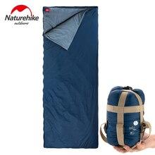 Naturehike sacos de dormir para acampar al aire libre, senderismo, primavera, otoño, acampada al aire libre, senderismo, NH, saco de dormir de 205x85cm
