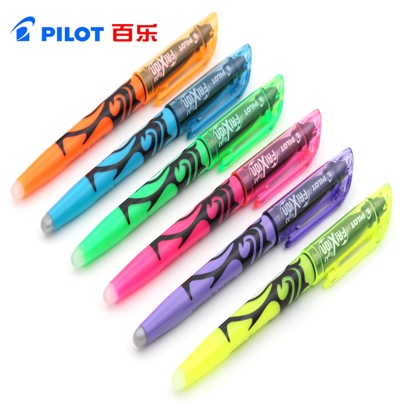 Us 14 24 5 Off 6pcs Lot Pilot Frixion Erasable Highlighter Color Marker Set Sw Fl Office And School Supplies In Marker Pens From Education Office