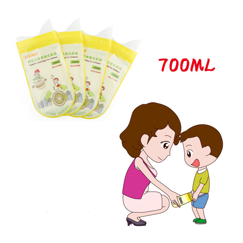 1PC Baby Travel Potties Portable Convenient Outdoor Kids Potty Girls Boys Disposable Car Urine Bags Traveling Urination New Drop