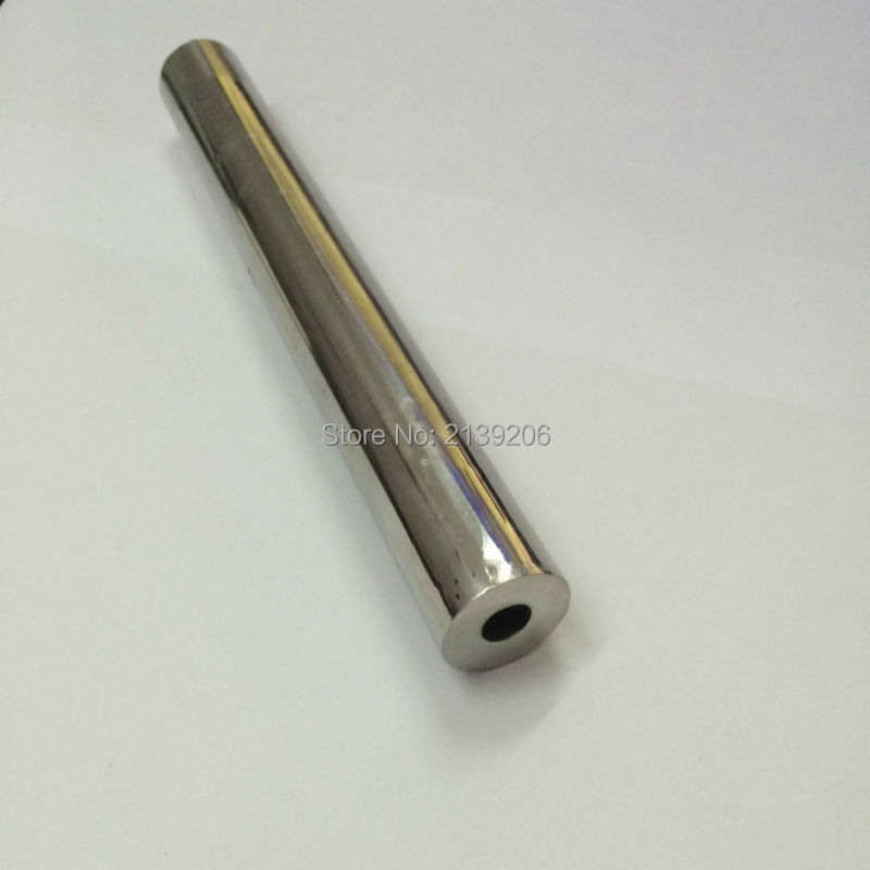 6 PCS D25 * 400mm 10000 Gauss forte néodyme aimant bar fer enlèvement de matière avec intérieure vis trou