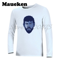 Men's Autumn Winter Men #33 Marc Gasol T-shirt Memphis Long Sleeve Tees T SHIRT Spain Men W1025026