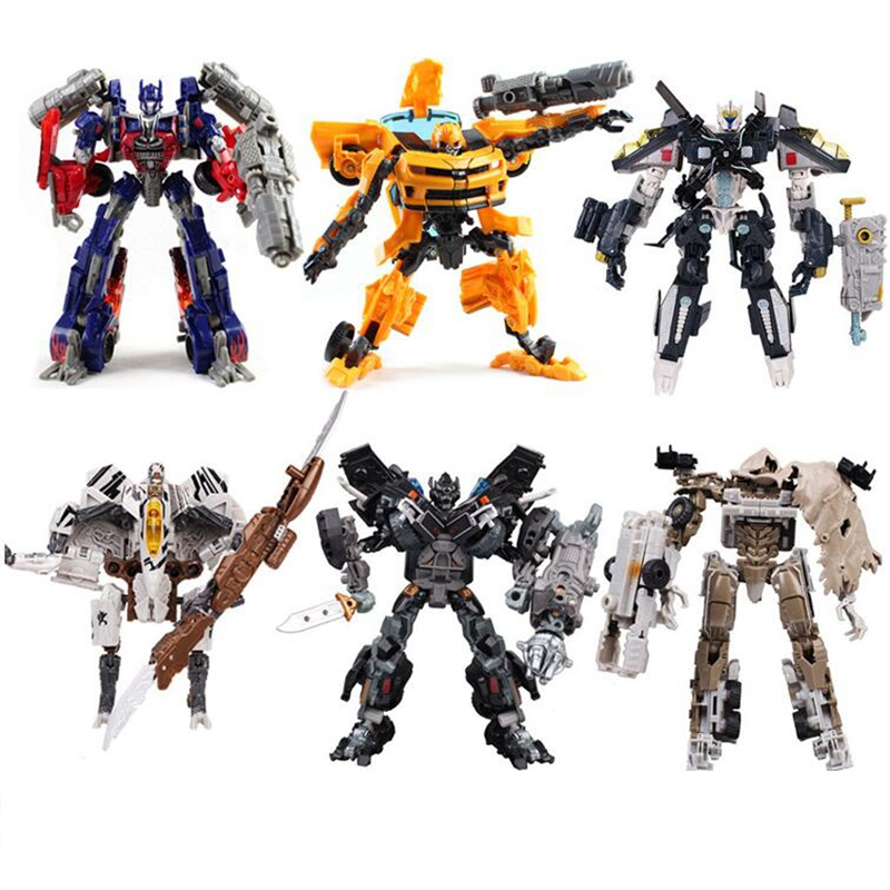 27CM Original Box Transformation 4 Car Robots Toys Action Figures Classic Robots Car Toys for Children gifts Brinquedos meng badi 1pcs lot transformation toys mini robots car action figures toys brinquedos kids toys gift