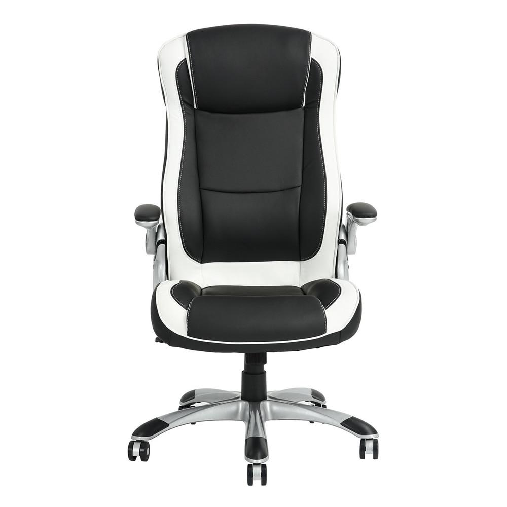 HOMY CASA Office Chair computer chair recliner ergonomic chair armchair leather chair