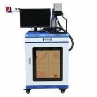Máquina da marcação do laser da fibra do logotipo do laser máquina de impressão do lazer do metal profundo 20w desktop máquina da marcação