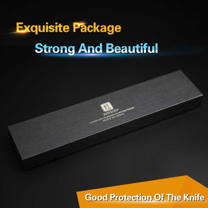 XINZUO 6,8 дюйма Nakiri кухонный нож VG10 Дамасская сталь ножи шеф-повара японский нож мясника мясные ножи деревянная ручка Pakka