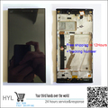 Original quality Touch screen digitizer+LCD display frame For Lenovo vibe z2 K920 mini fast shipping tracking number