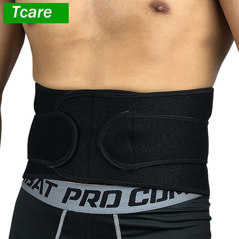 1Pcs Breathable Lumbar Support Belt for Men & Women, Helps Lower Back Pain Relief with S ...
