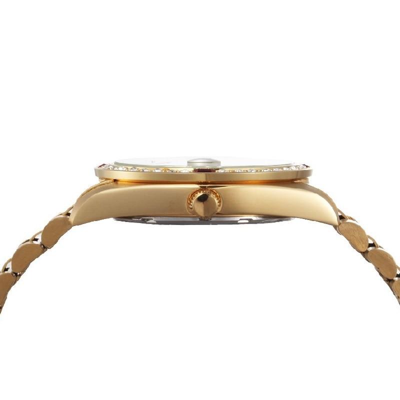 Kwaliteit REGINALD Merk Horloges Dames Top Luxe Vol Staal Diamanten - Dameshorloges - Foto 6