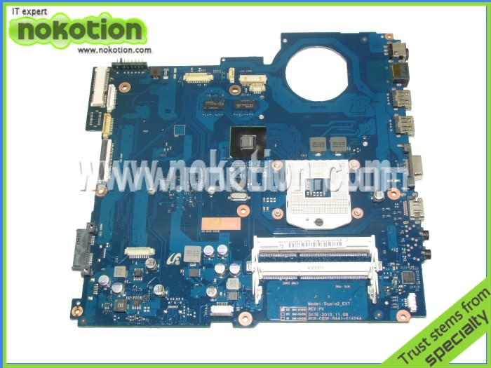 NOKOTION BA92-07392A BA92-07392B laptop motherboard for Samsung RV411 RV511 DDR3 Intel N12M-GE-S-B1 Mainboard ba92 05127a ba92 05127b for samsung np r60 r60 laptop motherboard ddr2 intel ati rs600me