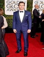 Party Suit Customized Slim Fit Groom Wedding suit for men Groom Tuxedos groomsman Suit brand name clothing Jacket+Pants+Tie