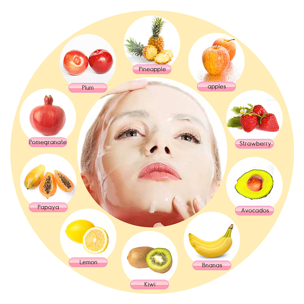 Face Mask Machine DIY Fruit Collagen Facial Masks Maker Anti Wrinkles Organic Therapy Face Mask Machine Beauty Facial SPA Skin Care Instrument (3)