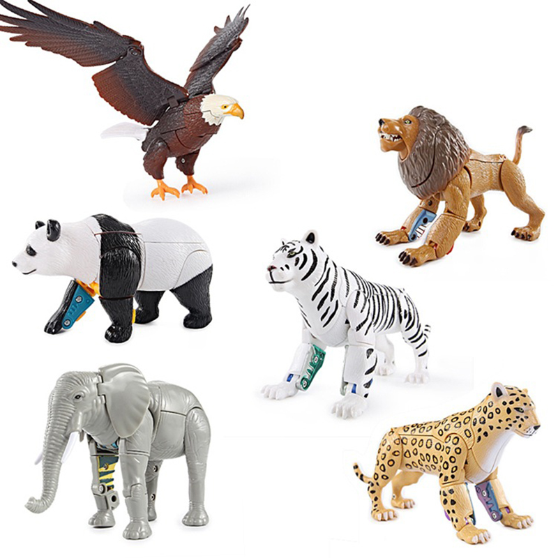 Montessori Toys Children Kids Early Learning Educational 3years Games Preschool Sensory Toys Zoo Lion Tiger Eagle Boy Toys Learn
