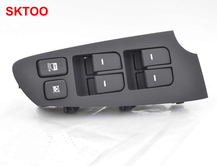 SKTOO pour Kia Forte interrupteur de lève-vitre avant gauche interrupteur de levage en verre de porte avant gauche