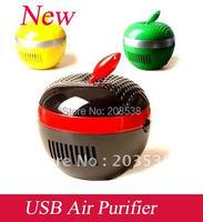 Free Shipping Dropshipping USB Apple Air Purifier Freshener Ionizer PC Air Fresheners Anionic Air Purifier Laptops