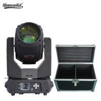 Stage professional lighting 350w beam 17r moving head light 1pcs fly case with 2pcs beam light