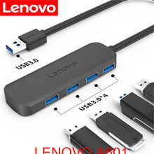 Lenovo A601 USB splitter ad alta velocità 4 port HUB multi-interfaccia docking espansione docking notebook convertitore di computer(China)