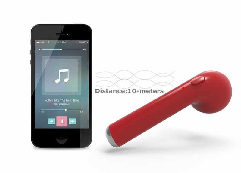 I7 słuchawki Bluetooth bezprzewodowe słuchawki douszne przenośny zestaw słuchawkowy słuchawka do telefonu zestaw głośnomówiący z mikrofonem do iPhone X 8 7 6 Android