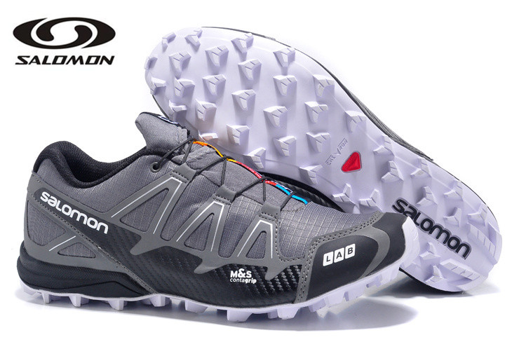 Free Shipping Salomon S-LAB FELL CROSS2 Outdoor Shoes high quality 90 Breathable mans Athletics Female Air Mesh Fencing Shoes