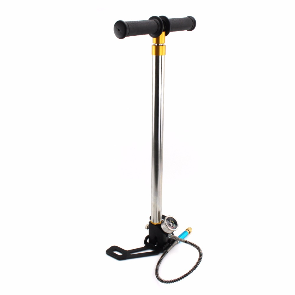 PCP Paintball Airforce High Pressure Air Pump Four Stage Brand New Style Hand Operated 30mpa HPA Tank Car Bicycle Air Refilling cxa l0612 vjl cxa l0612a vjl vml cxa l0612a vsl high pressure plate inverter