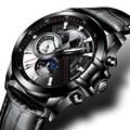 Schweiz BINGER Uhr Männer Luxus Marke Männer Uhren Saphir Leuchtende Uhren Männlichen wasserdichte Mechanische Armbanduhren B1189 3-in Mechanische Uhren aus Uhren bei