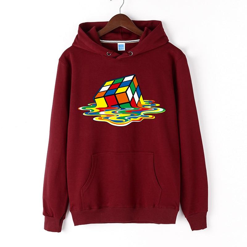 3d Hoodies Rubiks Cube Sweatshirts Men Psychedelic Hooded Casual Dizziness Hoodes 3d Colorful Hoody Anime Blurry Hoodie Print Hoodies & Sweatshirts