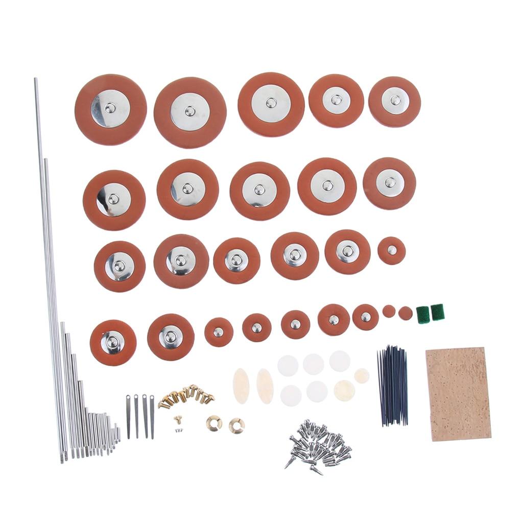 Saxophone Rollers Bolts Cork Sheet Pad Screws Sax Repair Tool Kit for Saxophone Woodwind Instrument