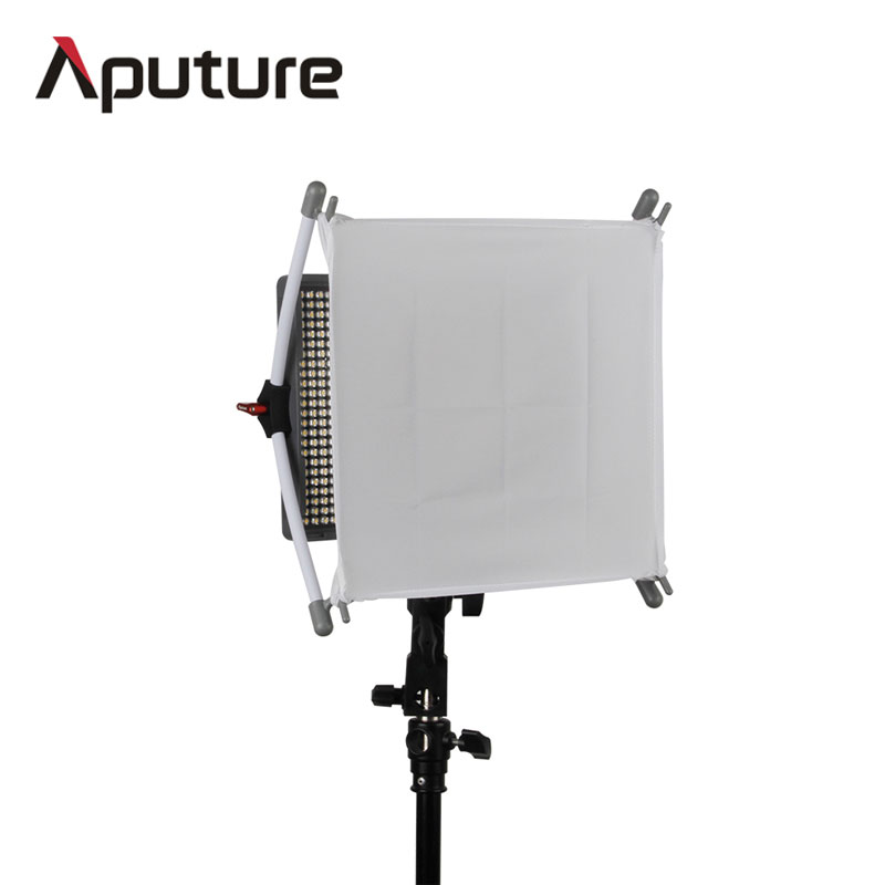 Aputure Brilliant soft lighting with diffuser flash diffuser Aputure Easy Frost Diffuser Kit for 672 528 light