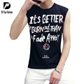hot sale newest fashion men's vest tank tops mens t shirts fashion T-shirt Cotton tee shirts hip hop t shirt Letter Boy Vest