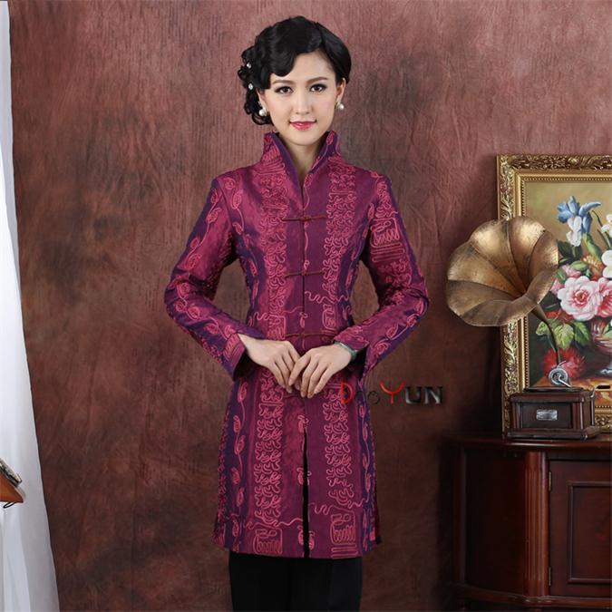 Jacken & Mäntel Herzhaft E Verschiffen Frühling Die Neue Traditionelle Chinesische Kleidung Boutique Frauen Damen Tops Oberbekleidung Tang-anzug