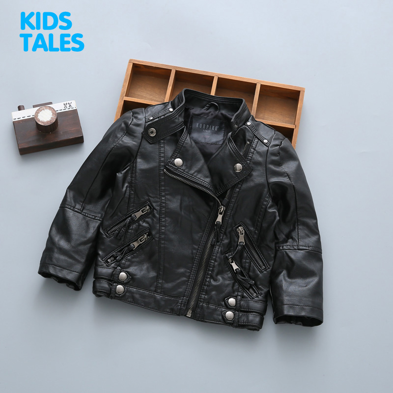 New Kids Jackets Kids PU Leather Jacket Boys and Girls Leather Coat Children Outerwear Leather Jacket 1-9T набор головок kraftool 27950 h8