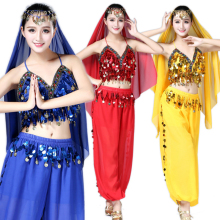 Adult Bellydance Costumes for Women 3pieces Suit Indian Belly Dance Costume