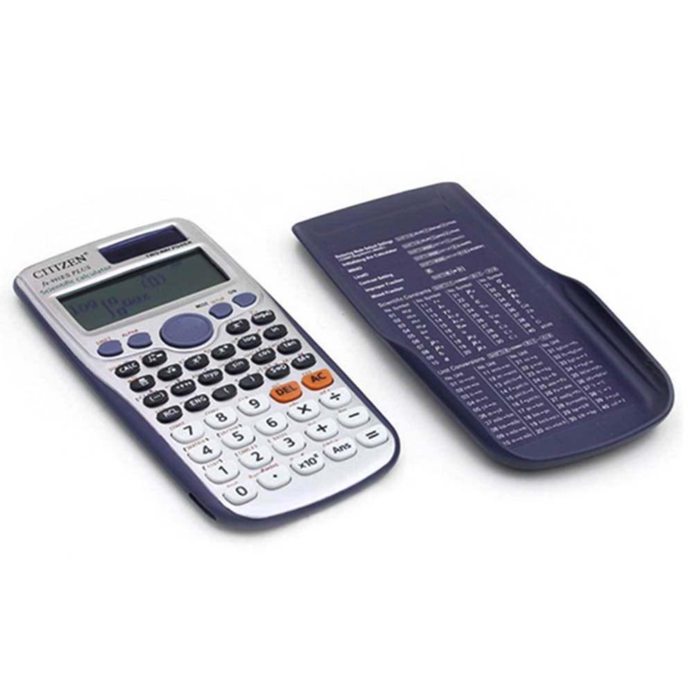 991E Scientific Touch Keyboard Calculator LED Display Pocket Handheld Student Calculator