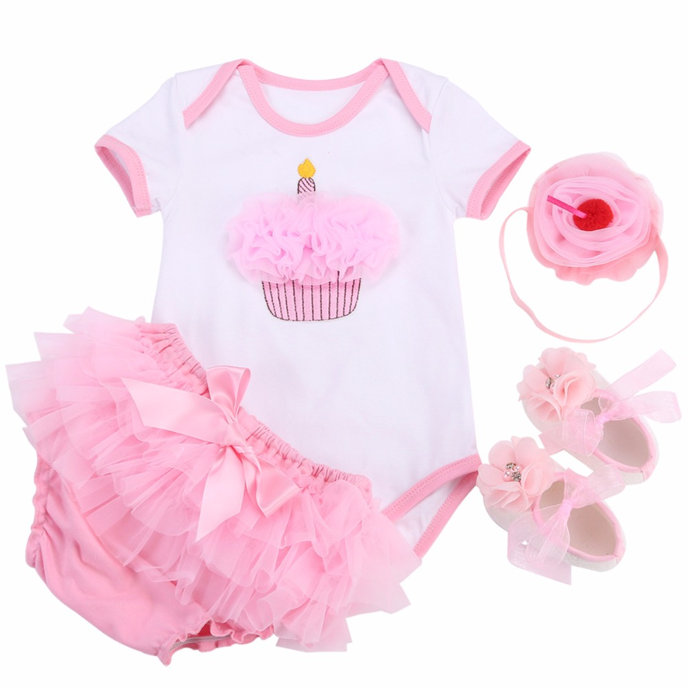 8aed367e2cc Unicorn Cotton Girls Newborn Baby Clothes Tutu Baby Bloomers Floral Shoes  SetInfant Clothing Baby Costume Princess Bebe Fille-in Clothing Sets From  Mother .