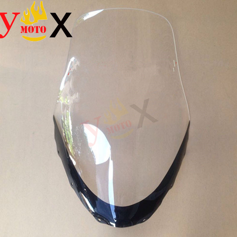 Scooter Motorcycle Clear Windshield Windscreen Deflector Airflow For Suzuki Skywave Burgmab AN400 AN250 2003-2006 2004 2005Scooter Motorcycle Clear Windshield Windscreen Deflector Airflow For Suzuki Skywave Burgmab AN400 AN250 2003-2006 2004 2005