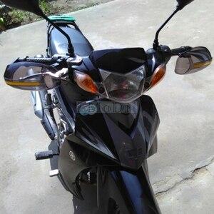 Image 5 - LMoDri protège mains de moto, Dirt Bike, Scooter, Protection des mains, pare brise, conduite, guidon 22mm 2 pièces/paire