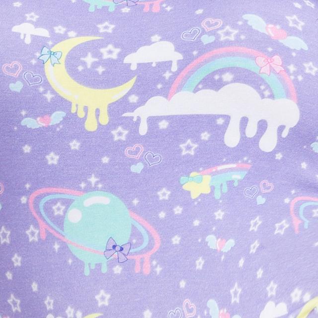 Adult Rainbow Cartoon Pajamas Abdl Onesie Baby Girl Women Pijama Short-sleeved Causal Soft Cotton Romper DDLG romper I love Dad