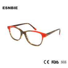 Acetate Womens Stylish Glasses Frames for Women Multi Color Eyeglasses Prescription Optical Frame Woman Small Narrow