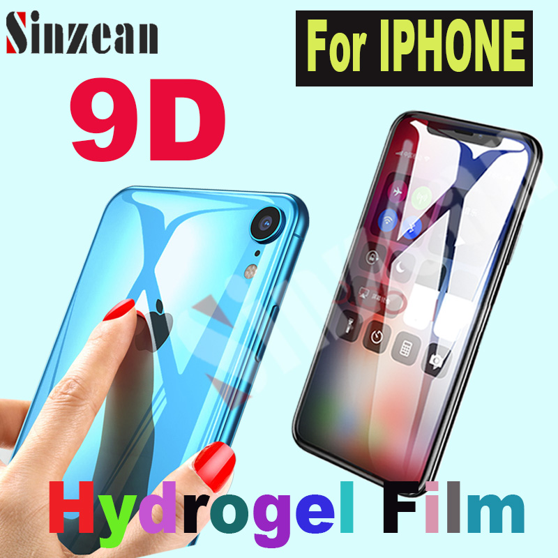 200pcs For IPHONE 12 Pro MAX/XS MAX/XR/SE 2020 hydrogel film For IPHONE 11 Pro/678 Plus Soft hydrogel film screen protector