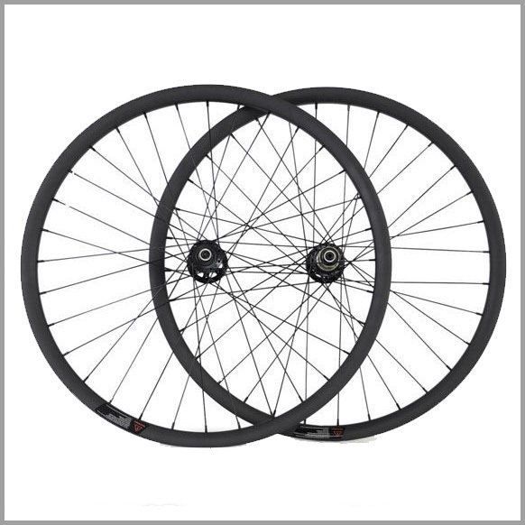 full carbon fiber mountain bike wheels height 20mm width 30mm clincher carbon 29 mtb bike wheels with Novatec hub 3k matte 2018 anima 27 5 carbon mountain bike with slx aluminium wheels 33 speed hydraulic disc brake 650b mtb bicycle