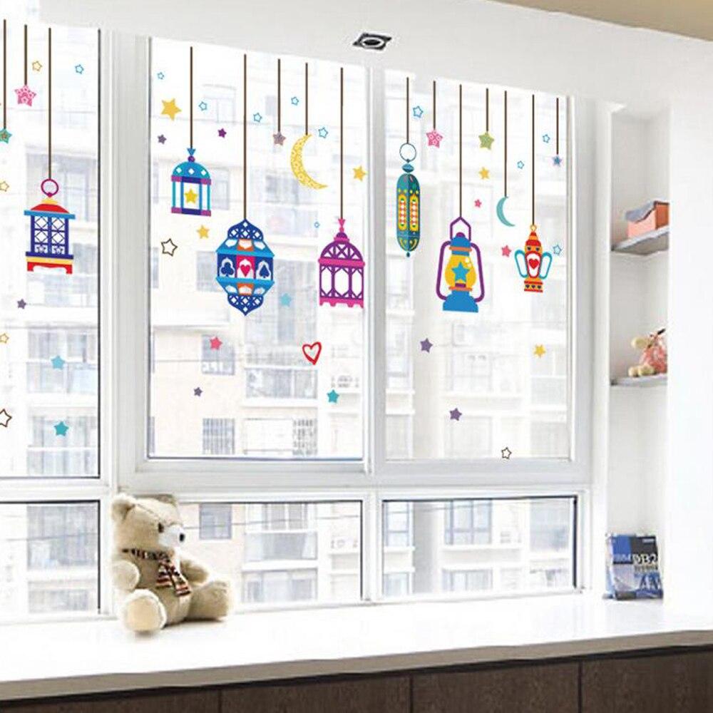 Kronleuchter Sterne Mond Wandaufkleber Aufkleber Englisch Letterhome Papier  Bild Diy Wandbild Kind Kindergarten Baby Wohnzimmer Dekoration In  Kronleuchter ...