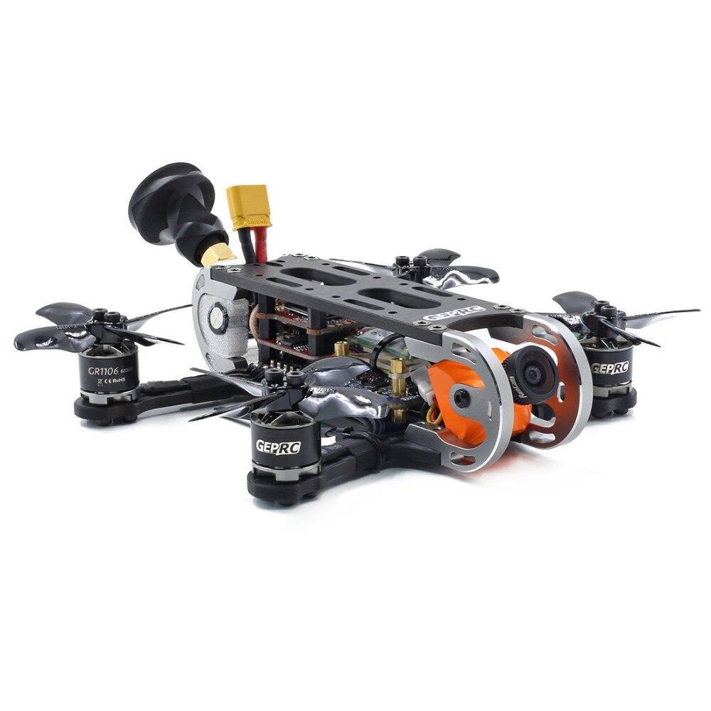 Gerpc GEP CX Cygnet 2 115mm 2 pouces RC course Drone Stable F4 20A 48CH RunCam fendu Mini 2 1080P HD FPV quadrirotor BNF/PNP Kit - 4