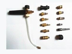 Image 2 - Alta qualidade de cobre cheio lavadora carro espuma arma para karcher nilfisk lavor bs bd lavadora espuma gerador neve bolha lança foamer