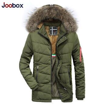 2018 kurtka zimowa ciepłe kurtki płaszcz mężczyźni wysokiej jakości zagęścić odzieży męskiej na co dzień Slim Fit Zip Up kurtki z kapturem rozdymka płaszcze