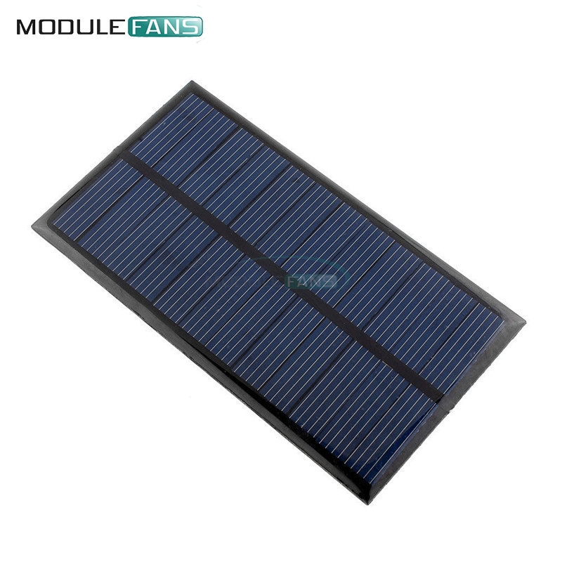 Electronic Components & Supplies Mini 6v 1w Solar Panel Bank Solar Power Board Module Portable Diy Power For Light Battery Cell Phone Toy Chargers Active Components