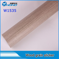 Meilleur Vendeur Bois Grian Vinyle Film Large: 1.24 m & Haute: 30 m Vinyle bois autocollants/Vinyle grain de bois fabrication de La Chine