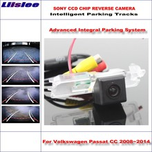 Liislee Intelligentized Reversing Rear Camera For Volkswagen VW Passat CC 2008~2014 View Back Up / Dynamic Guidance Tracks