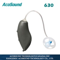 Acosound Ear Sound Amplifiers 630 Mini RIC Hearing Aid Digital Hearing Aids BTE Ear Care Tools Earphones With Earplugs
