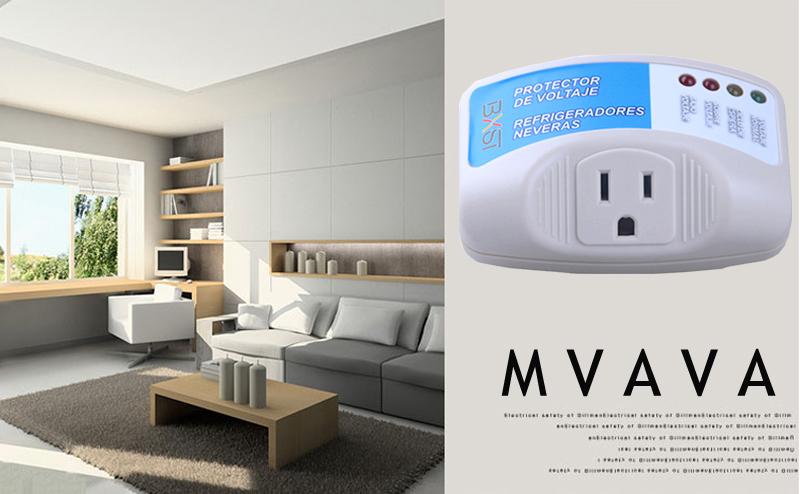 MVAVA Home Appliance Surge Protector Voltage Brownout Plug Outlet 4 ...