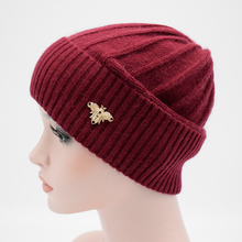 2017 Winter New brand Adult Women wool Beanies hat Solid color Wool Knitted cap warm casual Female wool hat fashion Lady caps